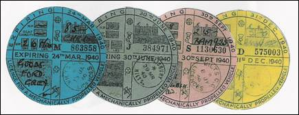 Quarterly Tax Discs